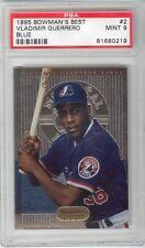 Vladimir Guerrero 1995 Bowman's Best #2 Blue Rookie Card rC PSA 9 Mint QUANTITY