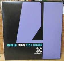 "PIONEER CD-4 TEST RECORD STEREO 7"" 45 RPM PROMO PQX-1011 1974 SEPERATION BALANCE"