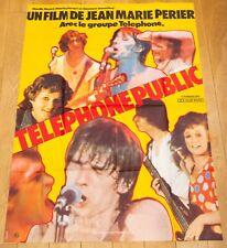 TELEPHONE PUBLIC Affiche cinéma 120x160 JEAN-MARIE PERIER, JEAN-LOUIS AUBERT