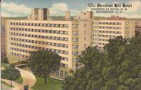 "Washington, D.C. -  Meridian Hill Hotel - 1953 - ""Exclusive Hotel, Women"", WWII"