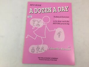A Dozen A Day - Mini Book -  For The Piano - Edna-Mae Burnam - Book Only - (F)