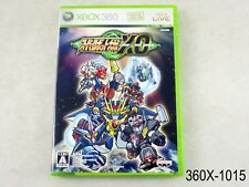 Super Robot Taisen XO Xbox 360 Japanese Import Wars Xbox360 Japan US Seller B