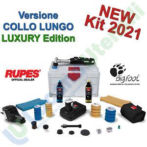 Lucidatrice Rotorbitale a Batteria 12V RUPES iBrid Nano COLLO LUNGO Kit LUXURY