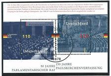 Allemagne RFA Bloc N°42 Obl (FU)1er jour 07/05/1998 Berlin Conseil parlementaire