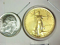 1989 $10 American Gold Eagle 1/4 oz Gold Coin Roman Numeral Date