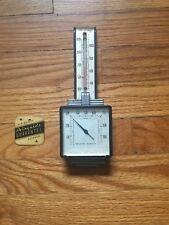 Vintage Art Deco Airguide Temperature-Humidity Gauge