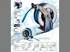 Stainless Steel Hose Reel For Hote Water Application Up To 90Deg