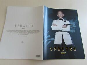 SPECTRE CRAIG WALTZ SEYDOUX HARRIS JAMES BOND MOVIE PROGRAM FROM JAPAN (10)
