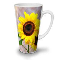 Sunflower Photo Nature NEW White Tea Coffee Latte Mug 12 17 oz | Wellcoda