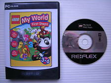 LEGO My World First Steps - PC CD ROM - Windows 98/Me/2000/XP/x64