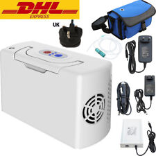 3L/Min Portable Oxygen Concentrator Generator Car Charger Home Travel Li Battery