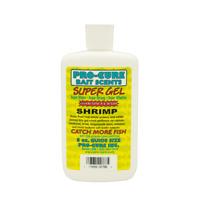 Pro-Cure Super Gel Freshwater & Saltwater Fishing Attractant 8 oz Bottles
