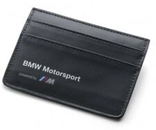 WALLET Credit Card Holder Leather BMW Motorsport Team M Power DTM Touring NEW!