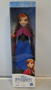 DISNEY FROZEN Anna DOLL ACTION FIGURE NEW IN BOX by Hasbro - 12 inches