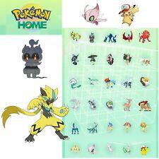 Pokemon Home - Zeraora, Marshadow (+28 other Pokemon) Swsh ready