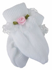 Doll Clothes for Bitty Baby Lace Trim Socks w/ Pink Rosebuds Accessories