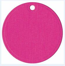"""""""We R"""" QuicKutz Small Shape Single Die CIRCLE TAG  Label, Title, Gift  -03605-8"""