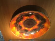 West germany fat lava bay keramiek ceramic  plate wandteller 226-31 pottery