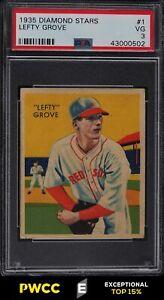 1935 Diamond Stars Lefty Grove #1 PSA 3 VG (PWCC-E)