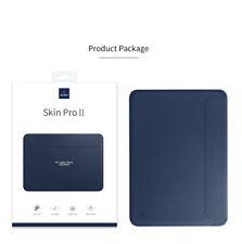 "Leather Magnet Messenger Case Bag For MacBook Air Pro Retina 12"" 13.3"" 15.4"" 16"""