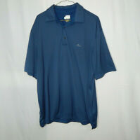 Greg Norman Play Dry Short Sleeve Casual Polo Golf Shirt Size XL Mens Clothing