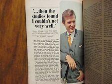 8/1967 TV Guide(ROGER MOORE/THE  SAINT/BARBARA WALTERS/SIGRID VALDIS/CURT GOWDY)