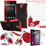 ONEPLUS PHONE Tough Shockproof Heavy Duty Case Cover + Multi Accessory Bundle UK