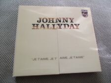 "RARE! CD DIGIPACK ""JE T'AIME, JE T'AIME"" Johnny HALLYDAY / 10 titres - 2000"