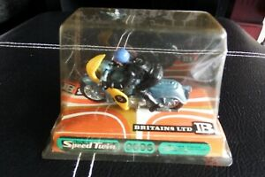 BRITAINS  Triumph Speed Twin Motorcycle 9696 1.32, rare boxed from new 1960's!