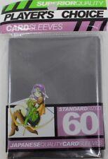 Player's Choice Card Sleeves Kartenhüllen Standard Größe 60 Matt Schwarz NEU OVP