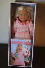 "American Girl Caroline MINI Doll 6"" & Mini Book Brand New In Box Retired"