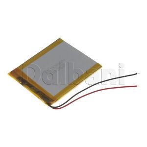 New 3.7V 1000mAh Internal Li-ion Polymer Built-in Battery 66x54x3mm 29-16-0640