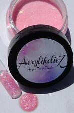 NEW 1 oz  Acrylic Glitter Design Powder| Bella Rose