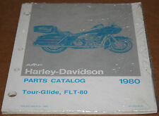 NOS Original Harley 1980 FLT Parts Catalog 99483-80 Brand New In Wrapping (51-2)