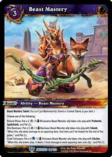 WARCRAFT WOW TCG WAR OF THE ANCIENTS : BEAST MASTERY X 4