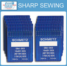 100 SCHMETZ 16X95 16X257 SIZE # 19 / 120 LOCKSTITCH NEEDLES DBX1 1738 287WH