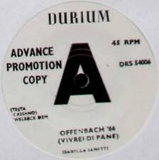"ISABELLA IANETTI ~ OFFENBACH '66 (VIVREI DI PANE) ~ 1966 UK ""PROMO"" 7"" SINGLE"