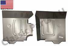 1957 1958 1959 CHRYSLER DODGE PLYMOUTH DESOTO FRONT FLOOR PANS NEW PAIR!