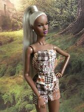 Custom Handmade Ooak Fashion Royalty NuFace Romper Outfit Nadja Vanity Model