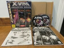 Star Wars X-Wing Collector Series by LucasArts, PC, 1998, Complete