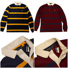 $188 Polo Ralph Lauren Men/'s Yale Classic Fit Patchwork Long-Sleeve Woven Shirt