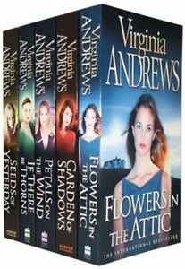 Women's Flowers in the Attic Virginia Andrews 5 Books Collection Set Pack NEW PB