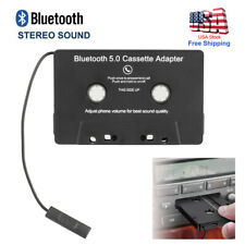 Bluetooth Car Music Audio Receiver Cassette Mp3 Player Adapter Aux Tape Convert