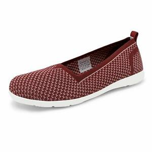 DREAM PAIRS Women's Slip On Flat Loafers Shoes Knit Casual Sneakers Shoes