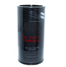 "JEAN PAUL GAULTIER ""LE MALE"" TERRIBLE EAU DE TOILETTE EXTREME SPRAY 125ML NIB"