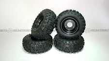 Set (x4) Knobby off road tire / tyre and rim 13x5-6 - Go kart Buggy