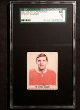 1967 67-68 IGA Serge Savard First Card with Montreal Canadiens Pre-Rookie Look