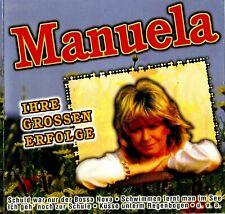 CD - MANUELA - SCHULD WAR NUR DER BOSSA NOVA - IHR GROSSEN ERFOLGE