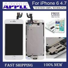 For iPhone 6 Touch Screen LCD Digitizer Complete Replacement Button White Camera