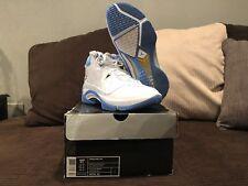 Air Jordan Melo M5 White/Blue Size 11.5